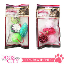 Load image into Gallery viewer, Pawise 28204 Cat Toy Assorted Set 4/Pack - All Goodies for Your Pet