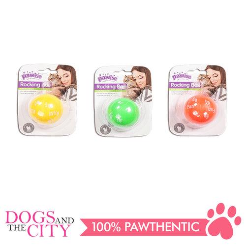 Pawise 2806 Rocking Balls Cat Toy 5cm - All Goodies for Your Pet