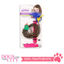 Load image into Gallery viewer, Pawise 28217 Cat Toy Connect-N-Tease Snack Wand - All Goodies for Your Pet