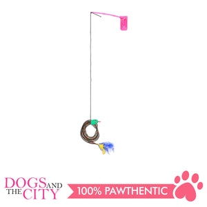 Pawise 28217 Cat Toy Connect-N-Tease Snack Wand - All Goodies for Your Pet