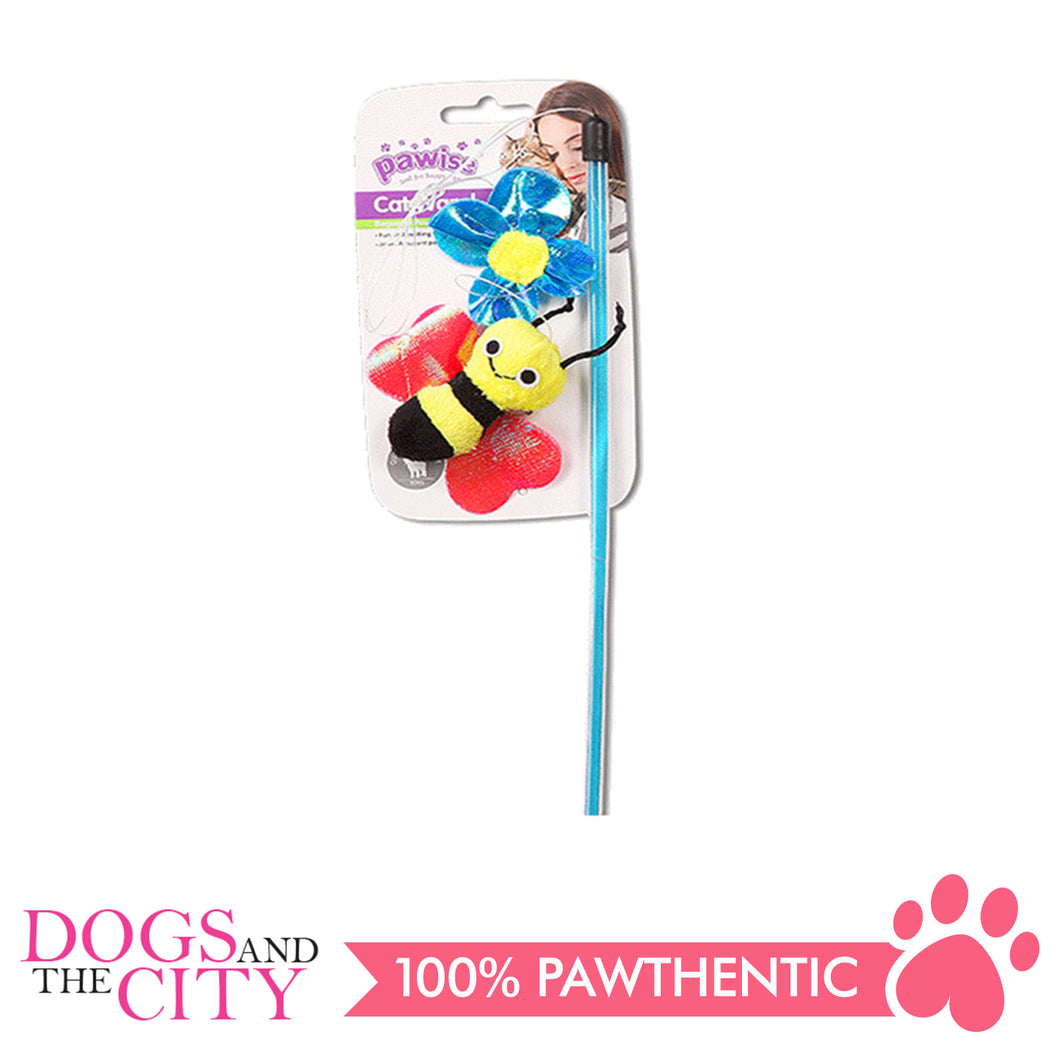 Pawise 28261 Cat Toy Insect Wand 45cm - All Goodies for Your Pet