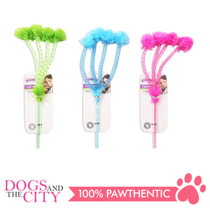 Pawise 28263 Cat Toy Teaser-Pompom - All Goodies for Your Pet
