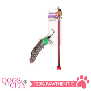 Pawise 28266 Cat Toy Telescoping Flying Teaser - All Goodies for Your Pet