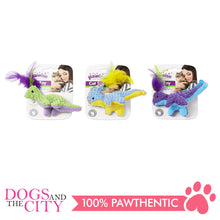 Load image into Gallery viewer, Pawise 28290 Cat Toy Meow Meow Life-Dinosaur - All Goodies for Your Pet