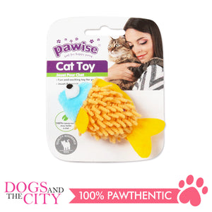 Pawise 28296 Cat Toy Meow Meow Life-Fish - All Goodies for Your Pet