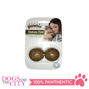 Pawise 28306 Cat Toy Catnip Ball 3.5cm 2/pack - All Goodies for Your Pet