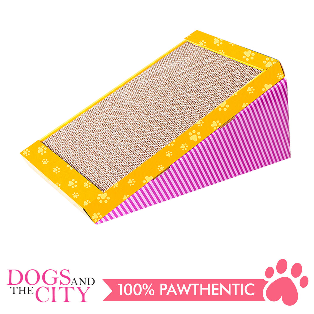 Pawise 28497 Cat Scratch-N-Play Cat Scratcher - All Goodies for Your Pet