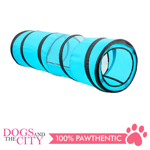 Pawise 28567 Cat Pop-Up Play tunnel -90x25cm - All Goodies for Your Pet