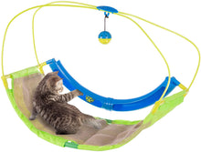 Load image into Gallery viewer, Pawise 28582 Rolling Scratching Hammock with Cat Toys For Cats and Kittens 29x25x9cm - All Goodies for Your Pet