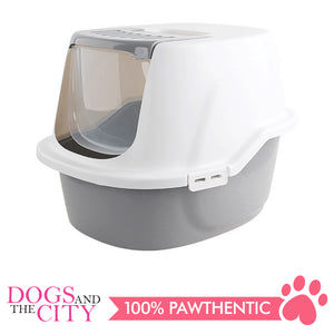 Pawise 28939 Cat Hooded Kitty Litter Tray 59x47.5x47.5cm - All Goodies for Your Pet