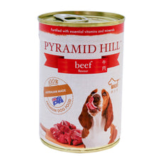 Load image into Gallery viewer, Pyramid Hill Beef 400g Wet Canned Food for Dogs (Set of 3 cans) - Dogs And The City Online