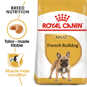 Royal Canin French Bulldog Adult 3kg - All Goodies for Your Pet