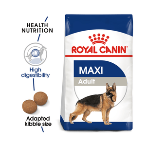 Royal Canin Maxi Adult 4kg - Dogs And The City Online