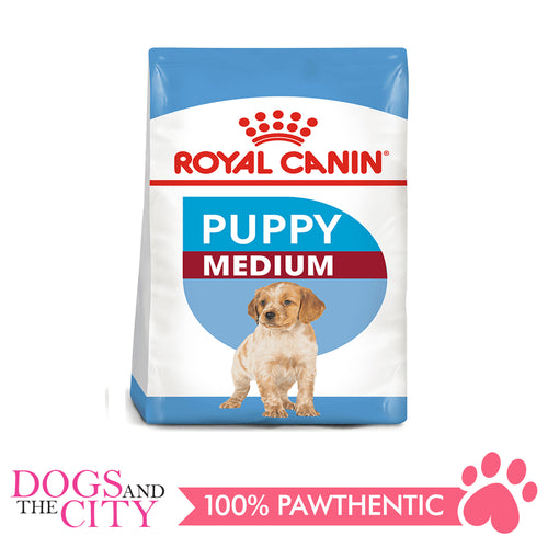 Royal Canin Medium Puppy 4kg - Dogs And The City Online