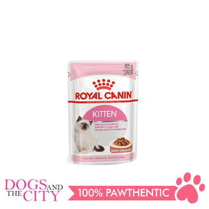 Royal Canin KITTEN INSTINCTIVE in Jelly Cat Food 85G (12 pcs) - All Goodies for Your Pet