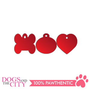Personalized Pet Tags Circle Shape Small 22x22mm - All Goodies for Your Pet