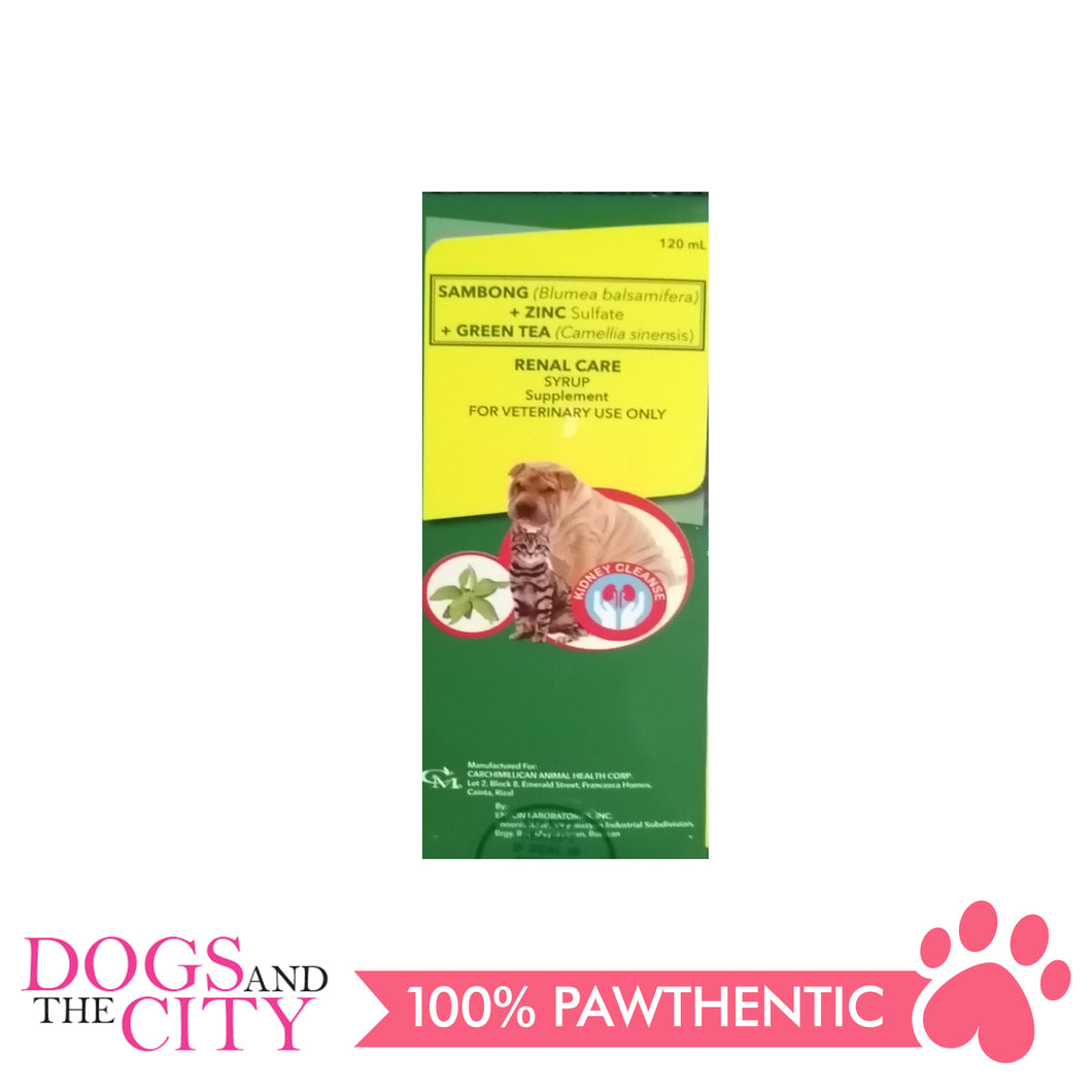CM Renal Care Kidney Supplements for Dogs and Cats (120ml) - All Goodies for Your Pet