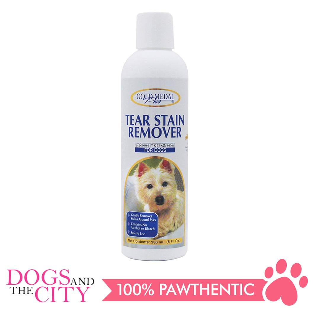 Gold Medal Pets Tear Stain Remover for Dogs 236ml - All Goodies for Your Pet