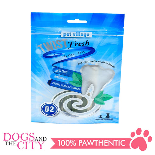 Twist Fresh 02 Beef flavor Dental Dual Twists 100g - All Goodies for Your Pet