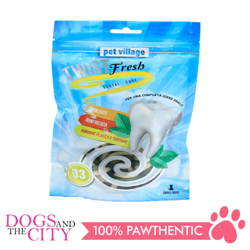 Twist Fresh 03 Beef flavor Dental Dual Soft Bone 100g - All Goodies for Your Pet