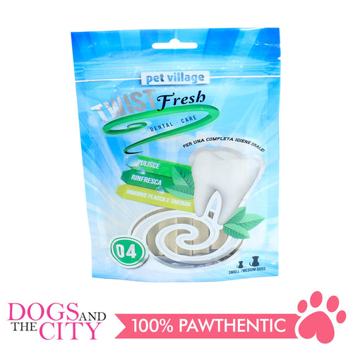 Twist Fresh 05 Beef flavor Dental Bites 100g - All Goodies for Your Pet