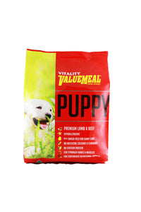Vitality Value Meal Dog Food Puppy 3kg - All Goodies for Your Pet
