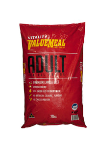 Vitality Value Meal Dog Food (Adult) 20Kg - All Goodies for Your Pet