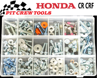 Honda Bolt Kit CR CRF 206 pcs	PC1014
