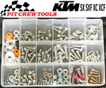 KTM Bolt Kit SX SXF EXC XC XCF SMR 142 pieces PC1008