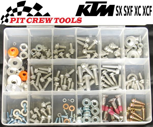 Husqvarna Bolt Kit TC TE TX FC FE 142 pieces PC1008