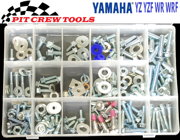 Yamaha Bolt Kit YZ YX YZF WR WRF 188 pcs.	PC1017