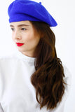 Blue French Style Beret Hat