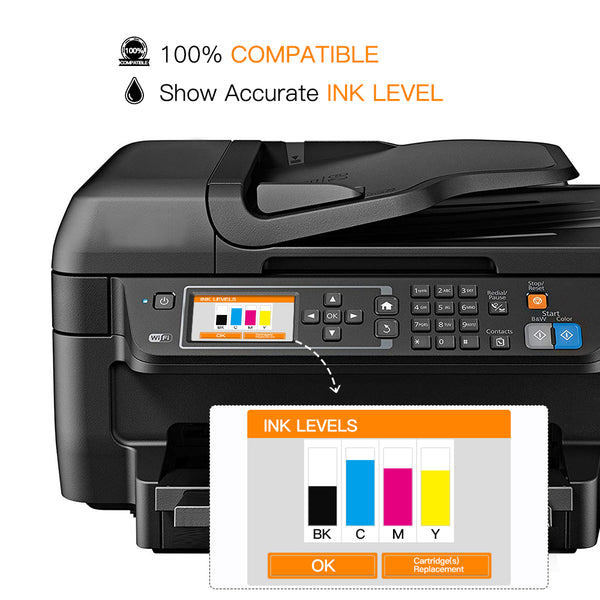 ejet Remanufactured Ink Cartridge Replacement for Epson