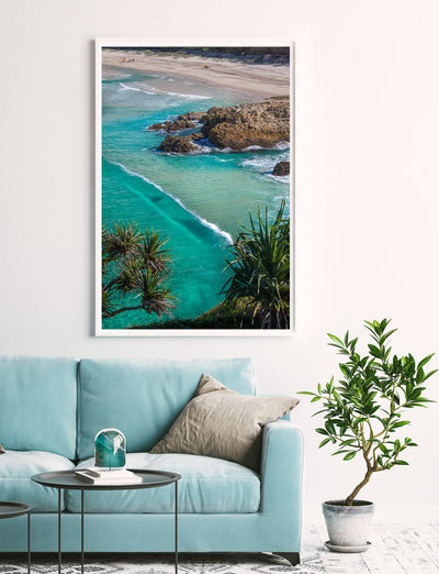 Crystal clear water at South Gorge  on North Stradbroke Island, Wall Art photography by Julie Sisco Snapshots of Straddie Gallery