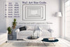 Wall Art Size Guide living room popular regular sizes horizontal rectangles to assist in choosing the correct size wall art