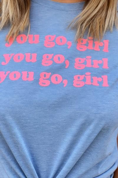 you-go-girl-blue-tshirt-with-pink-writing
