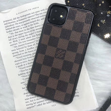 Load image into Gallery viewer, LV Checker iPhone 11 Cases