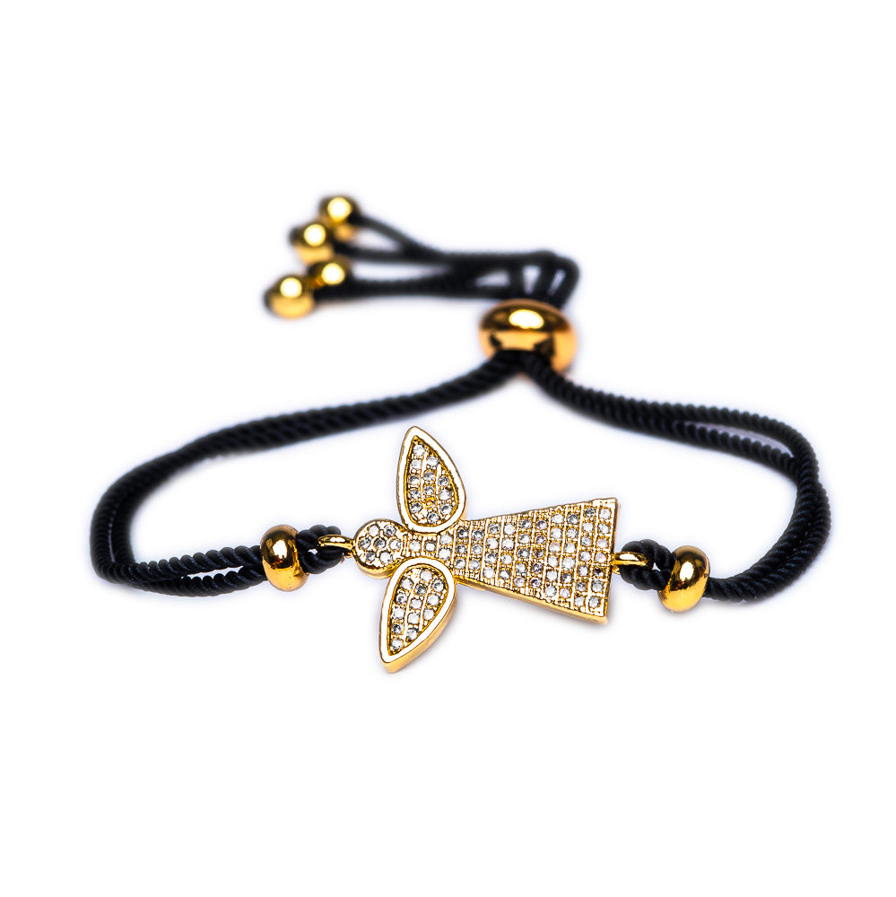 BRACELET B-212 - ANGEL BLING GOLD - BohoBlingCo