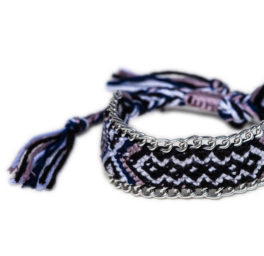 BRACELET B-549 - TRIBAL BRAIDED - BohoBlingCo
