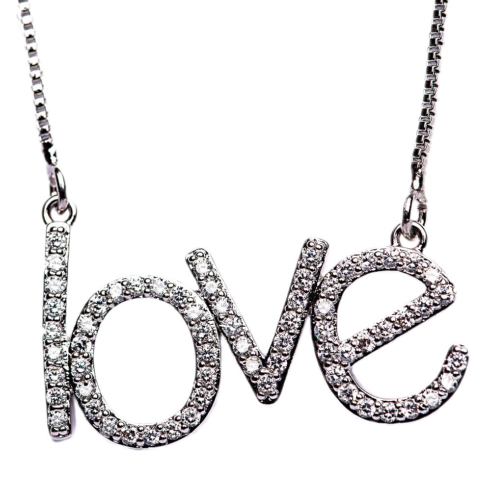 NECKLACE N-277 - LOVE BLING - BohoBlingCo
