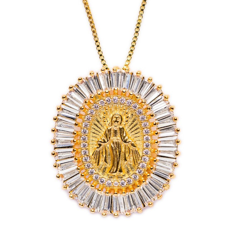 NECKLACE N-303 - VIRGIN PRAISE - BohoBlingCo
