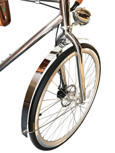 California Bicycle Factory Retro S Vintage Cruiser Electric Bike Front Fender