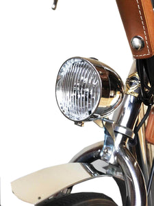 California Bicycle Factory Retro S Vintage Cruiser Electric Bike Vintage Head Light