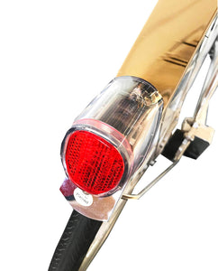 California Bicycle Factory Retro S Vintage Cruiser Electric Bike Solar Powered Tail Light