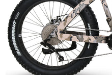QuietKat Ambush Fat Tire Hunting Electric Mountain Bike 750 Watt Mid Drive Electric Motor Chain Drive