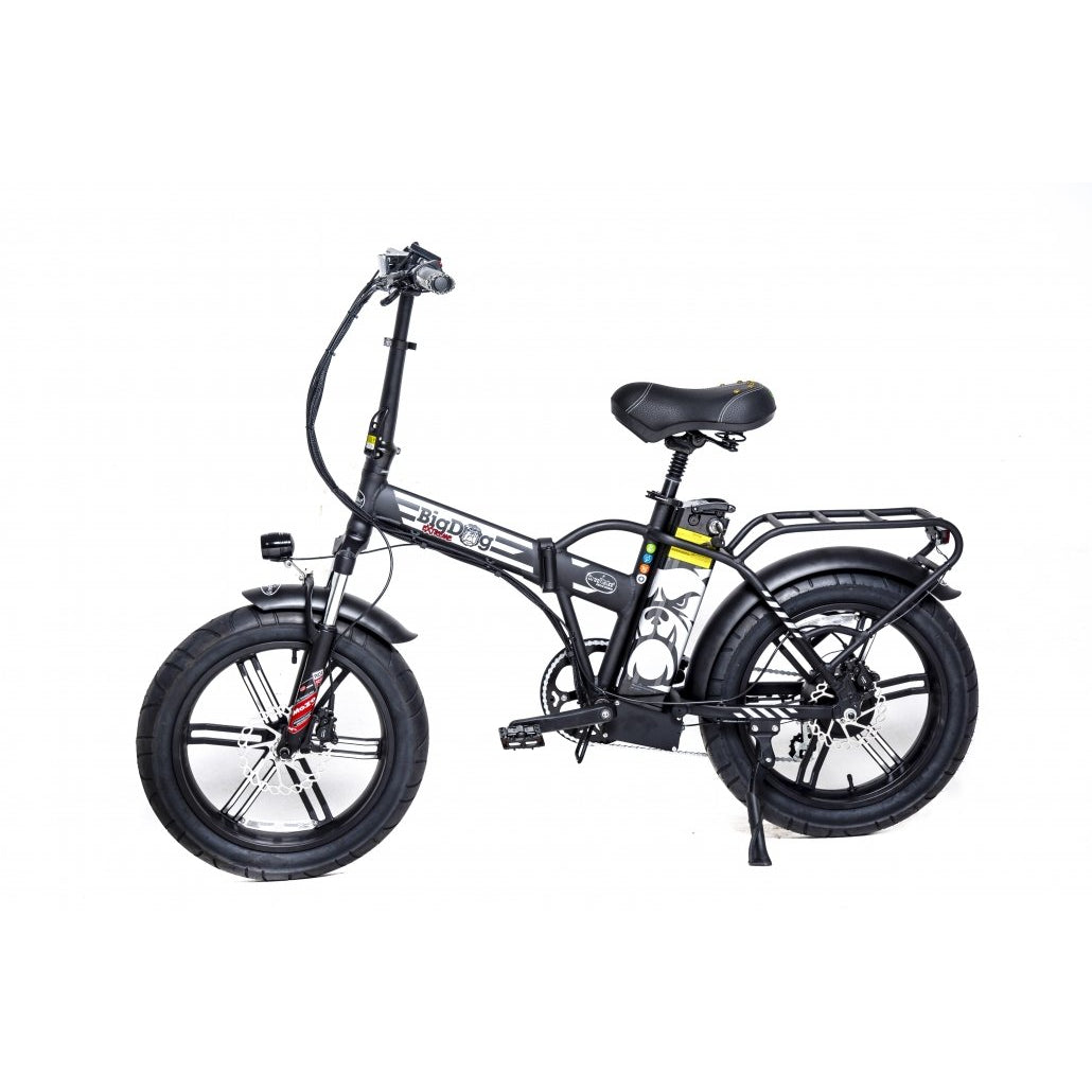 Green Bike Electric Motion Big Dog Extreme Fat Tire