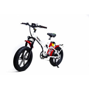 Green Bike Electric Motion Big Dog Off Road Fat Tire Foldable Electric Bike