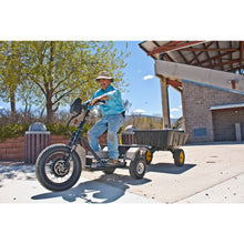QuietKat Prowler Fat Tire Hunting Electric All Terrain Trike 6000 Watt Electric Motor Action Shot