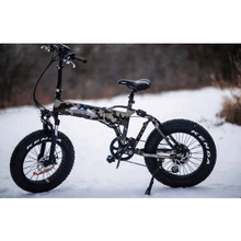 BackCountry eBikes Stalker 750 Foldable Fat Tire Hunting Electric Bike