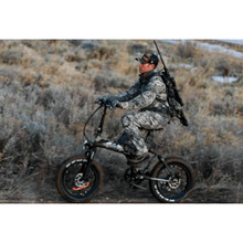 BackCountry eBikes Stalker 750 Hunting Electric Bike Action Shot